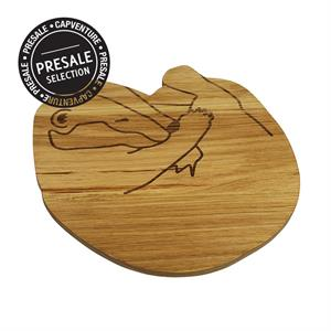 PS / WOODEN PLATE Badger